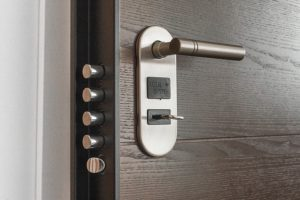 image of secure door