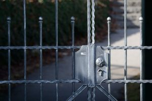 image of a secure fence